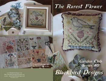Garden Club Series Blackbird Designs Cross Stitch Pattern