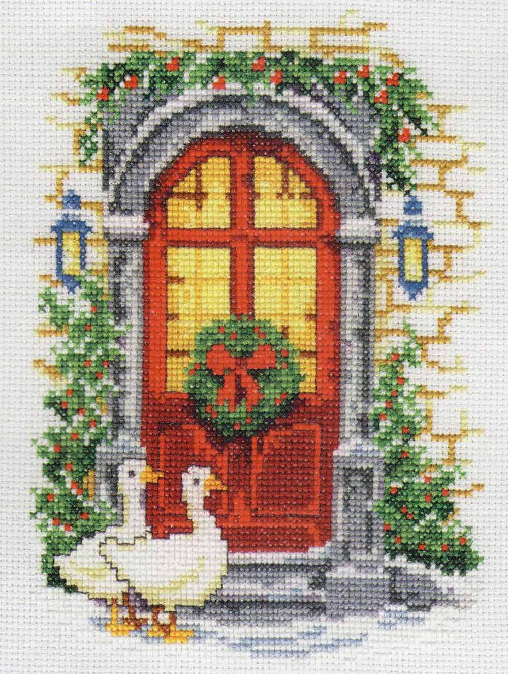 cross stitch corner super sale vervaco weihnachten. Black Bedroom Furniture Sets. Home Design Ideas
