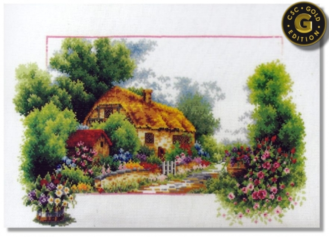 Cross Stitch Corner | CSC Season Saga 1 - Spring Lane