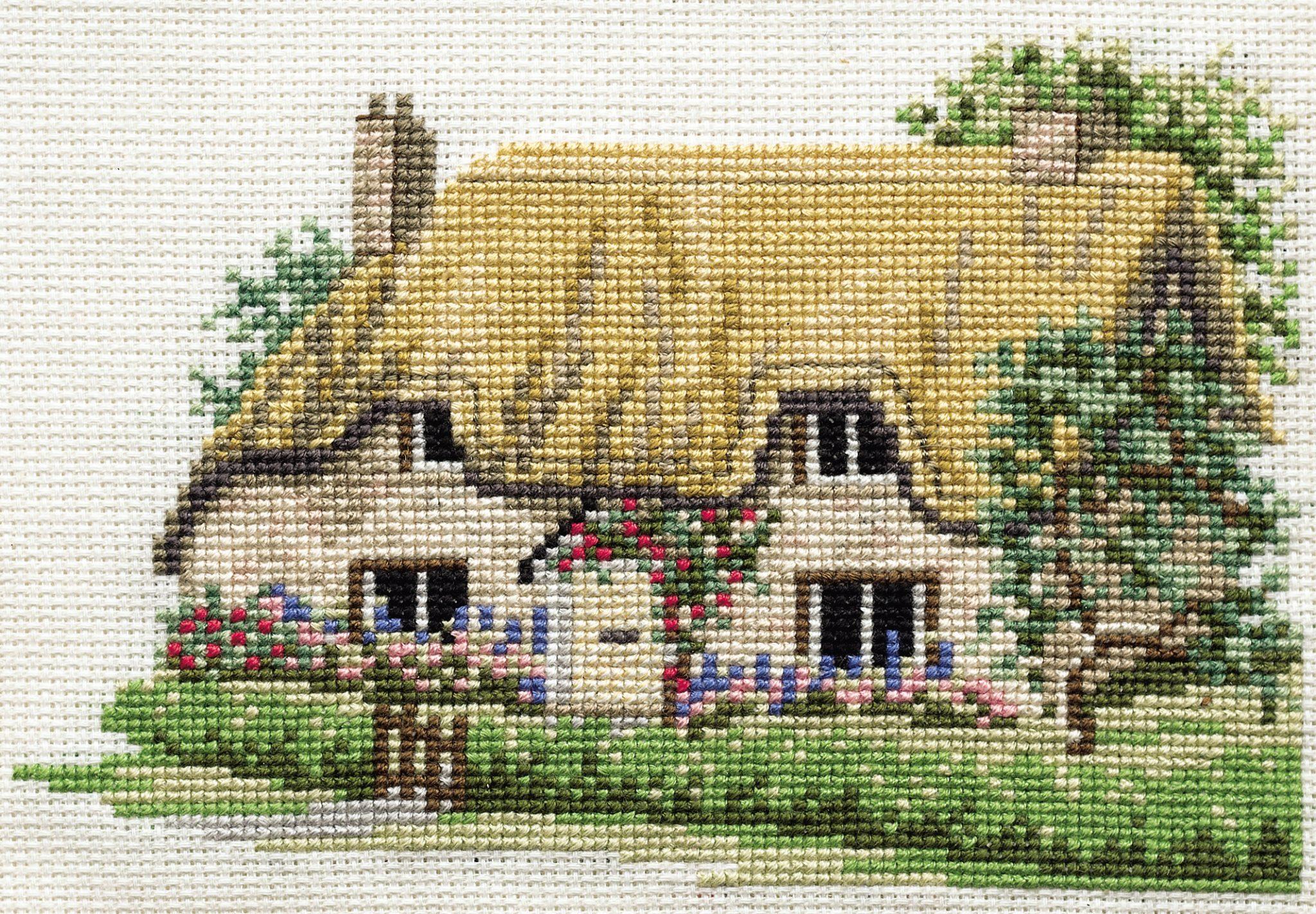 x stitch Cottage Cross Stitch Kits