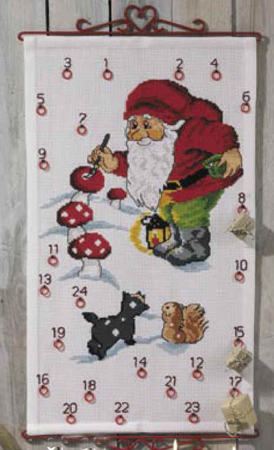 Aida Weihnachtskalender.Permin Of Copenhagen 34 2260 Advent Calendar