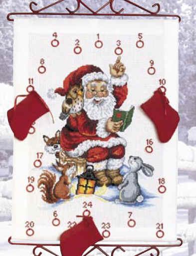 Aida Weihnachtskalender.Permin Of Copenhagen 34 2525 Adventskalender