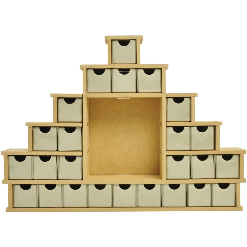 cross stitch corner mdf adventskalender individuell zu gestalten. Black Bedroom Furniture Sets. Home Design Ideas