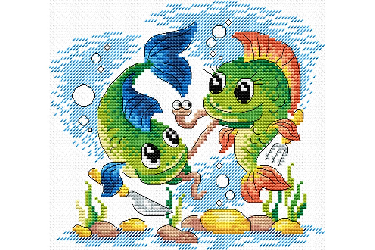 Underwater Cross Stitch