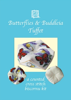 Textile Heritage Biscornu Tuffet kits