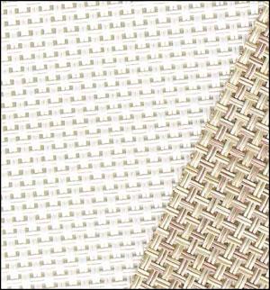 Cross Stitch Corner Vinyl Weave White 13ct