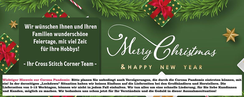 Weihnachtsgrüße und Betriebsferien