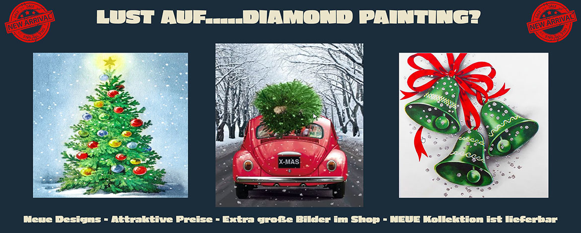 Diamond Painting Wintermotive