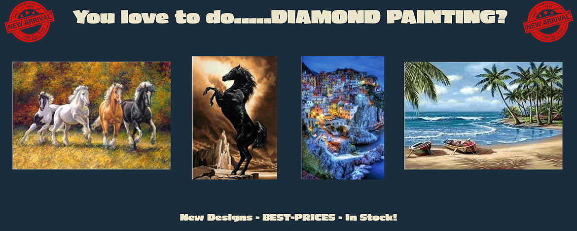 New Diamond Painting Designs