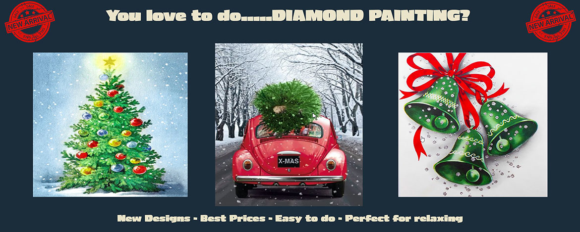 New Diamond Painting Winter Designs