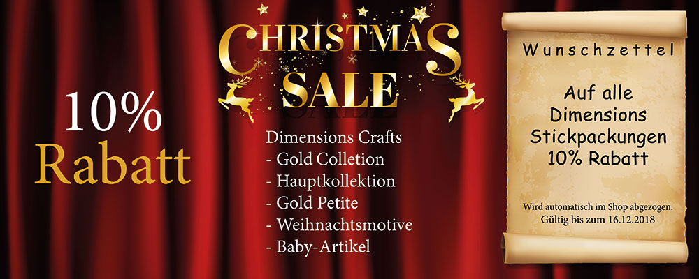 Dimensions Crafts 10% Aktionswoche