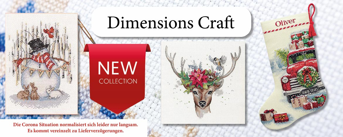Dimsions Crafts New Christmas Collection 2020