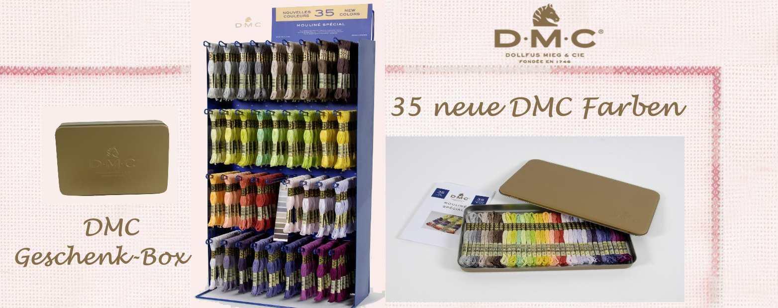 Neue DMC Farben Sticktwist Art.117