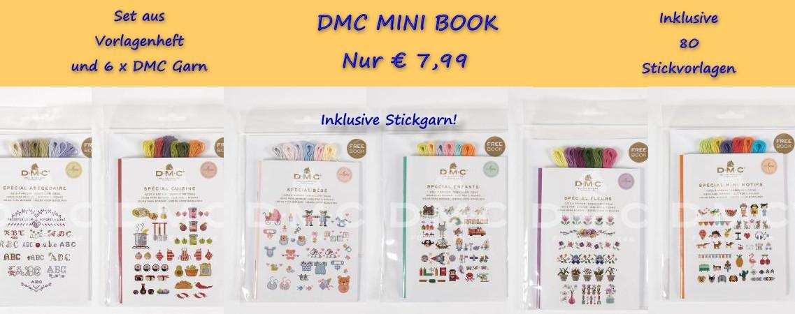 Neuheite! DMC Mini Books
