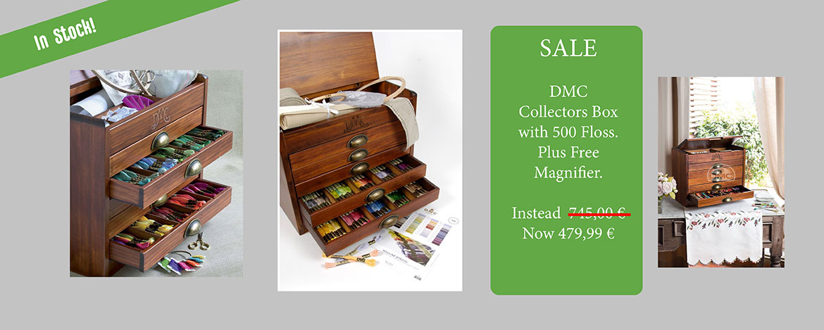 Super SALE DMC Collectors Box with 500 Floss