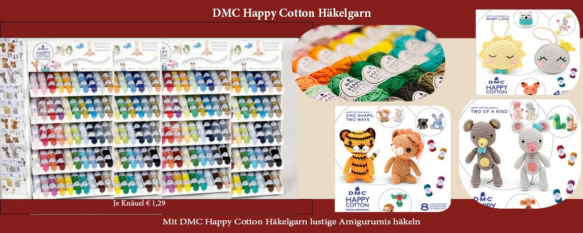Mit Happy Cotton Amigurumis häkeln