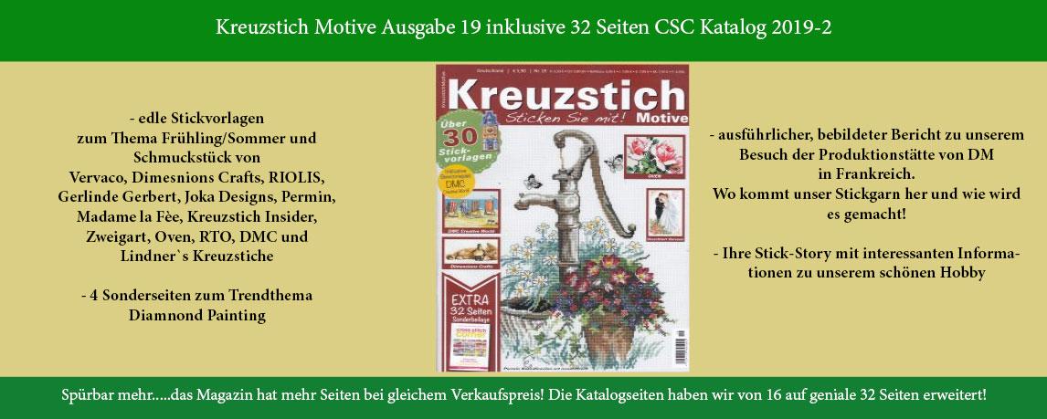 Kreuzstich Motive Ausgabe 19