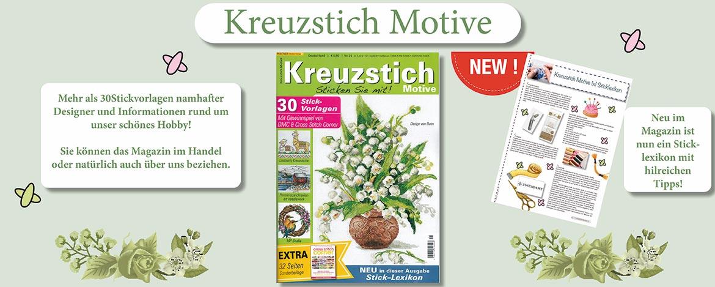Magazin Kreuzstich Motive Ausgabe 21
