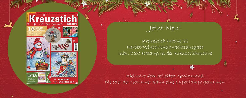 NEW! Magazin Kreuzstich Motive 22