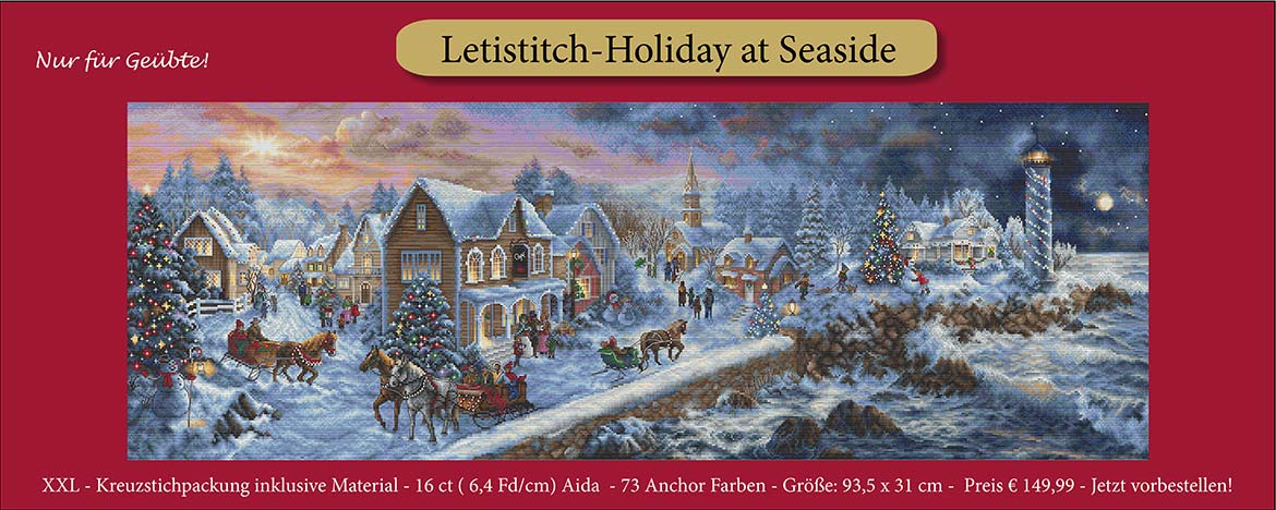 Letistitch XXL Holiday at Seaside