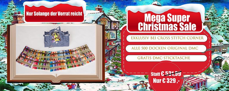 DMC Mega Deal - 500 Farben inklusive  Tasche