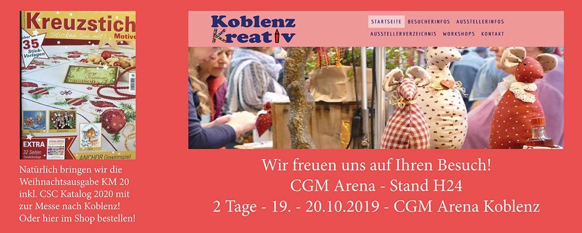 Messe Koblenz Kreativ