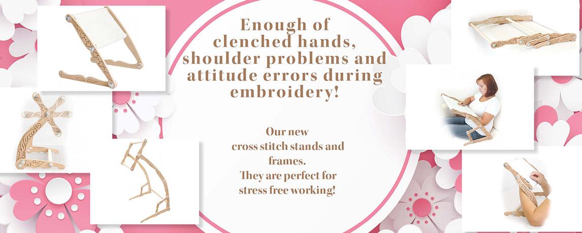 New Cross Stitch Stands