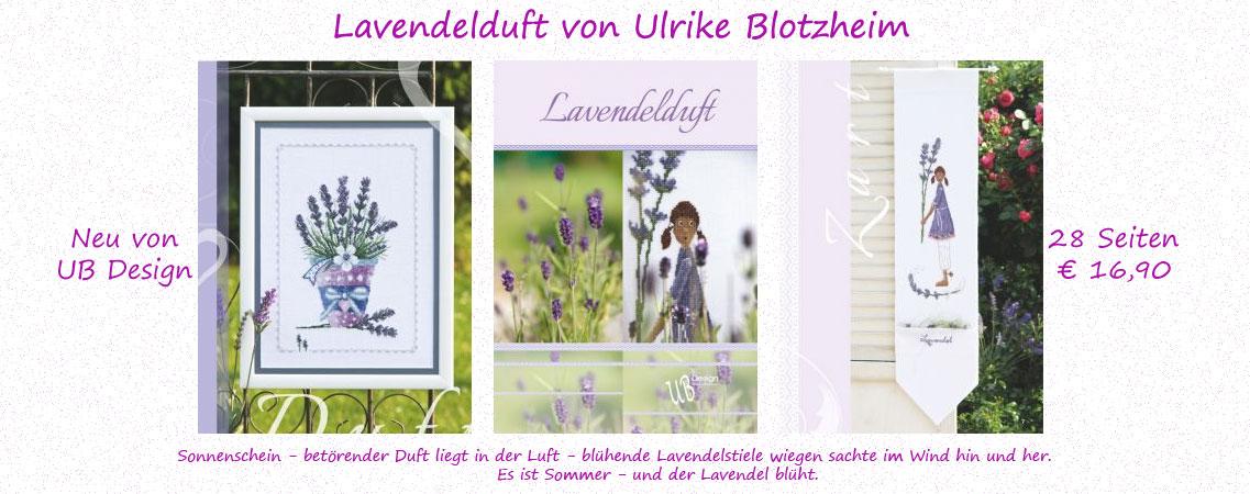 UB Design - Lavendelduft - Neues Kreuzstichbuch