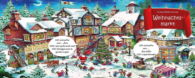 Cross Stitch Corner - Weihnachtsmarkt