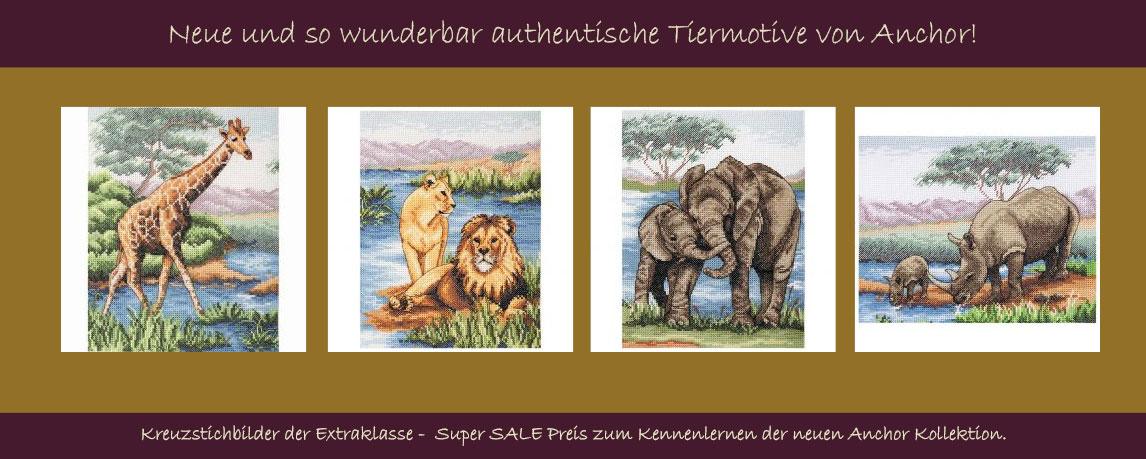 Wildlife Motive von Anchor in Spitzenqualität!