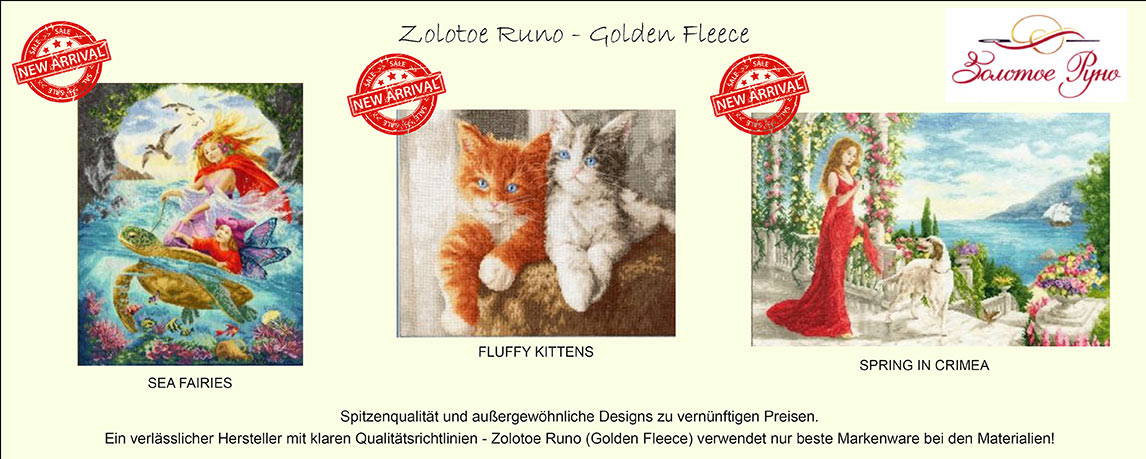 Neuheiten! Zolotoe Runo - Golden Fleece